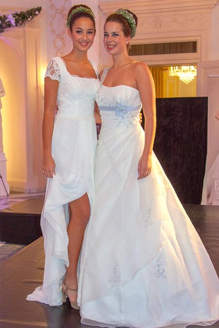 Bridal Models auf der Hochzeitsausstellung
